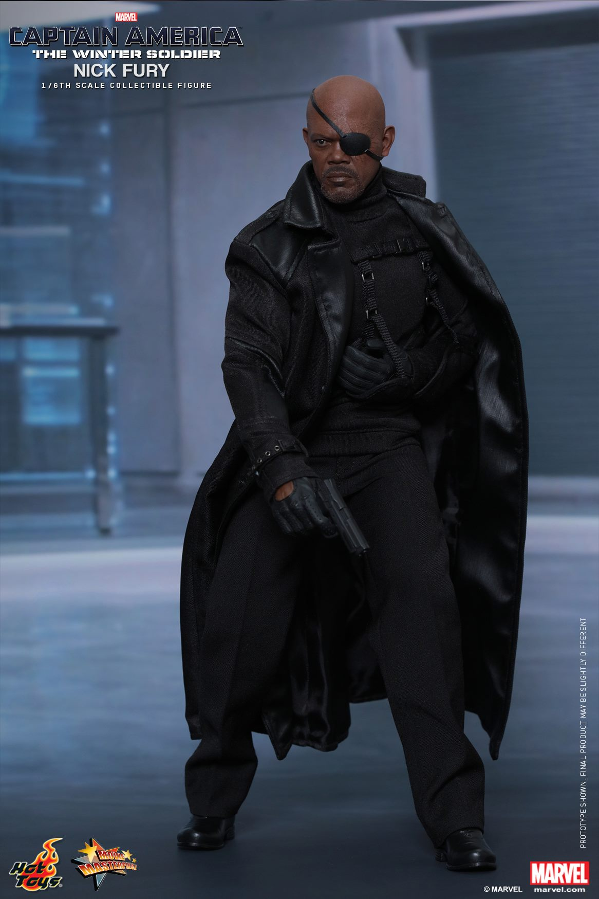 Nick Fury Hot Toys