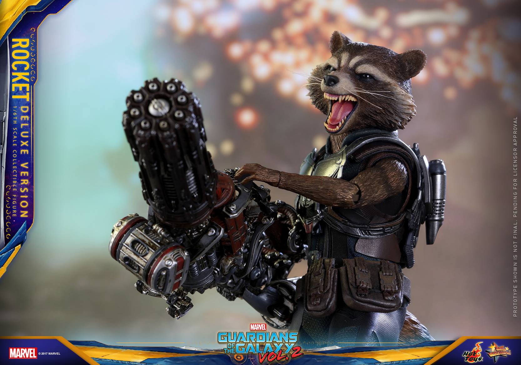 GOTG Vol. 2 - 1/6th scale Rocket Collectible Figure (Deluxe Ver.).