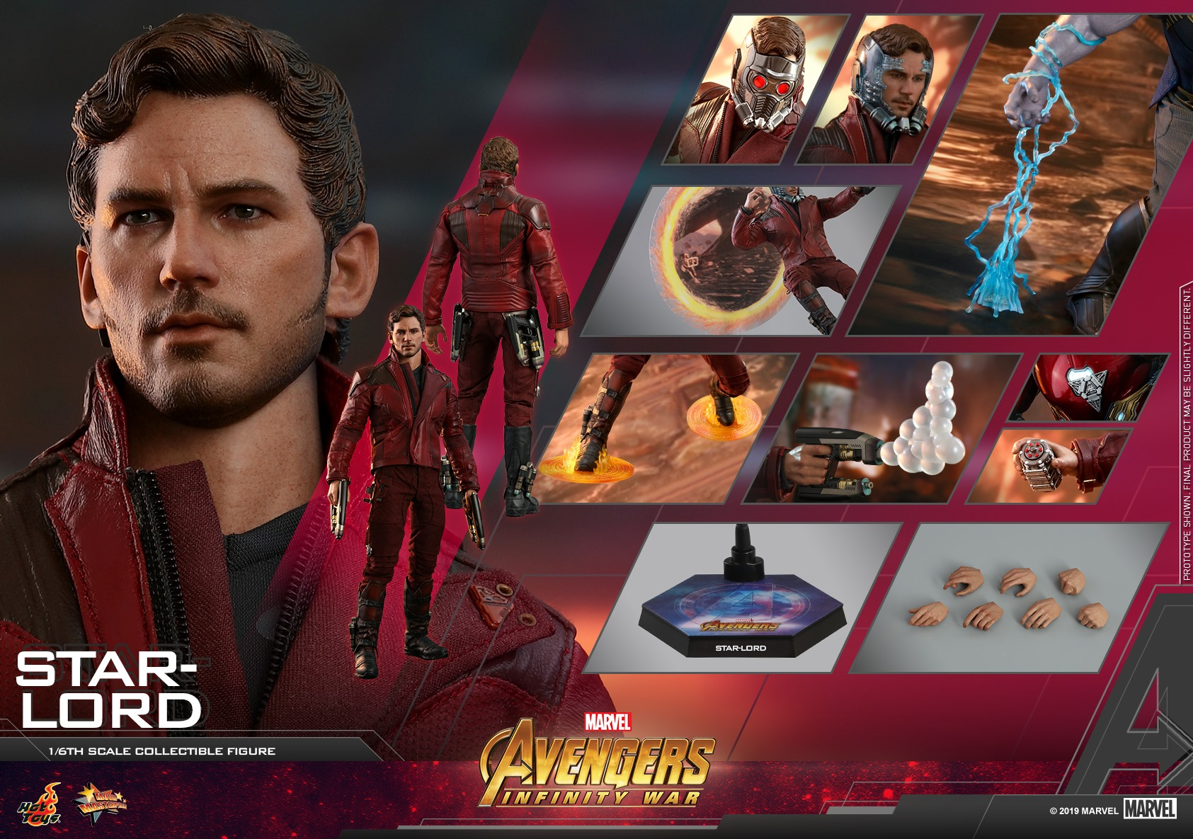 Peter Quill by Hot Toys