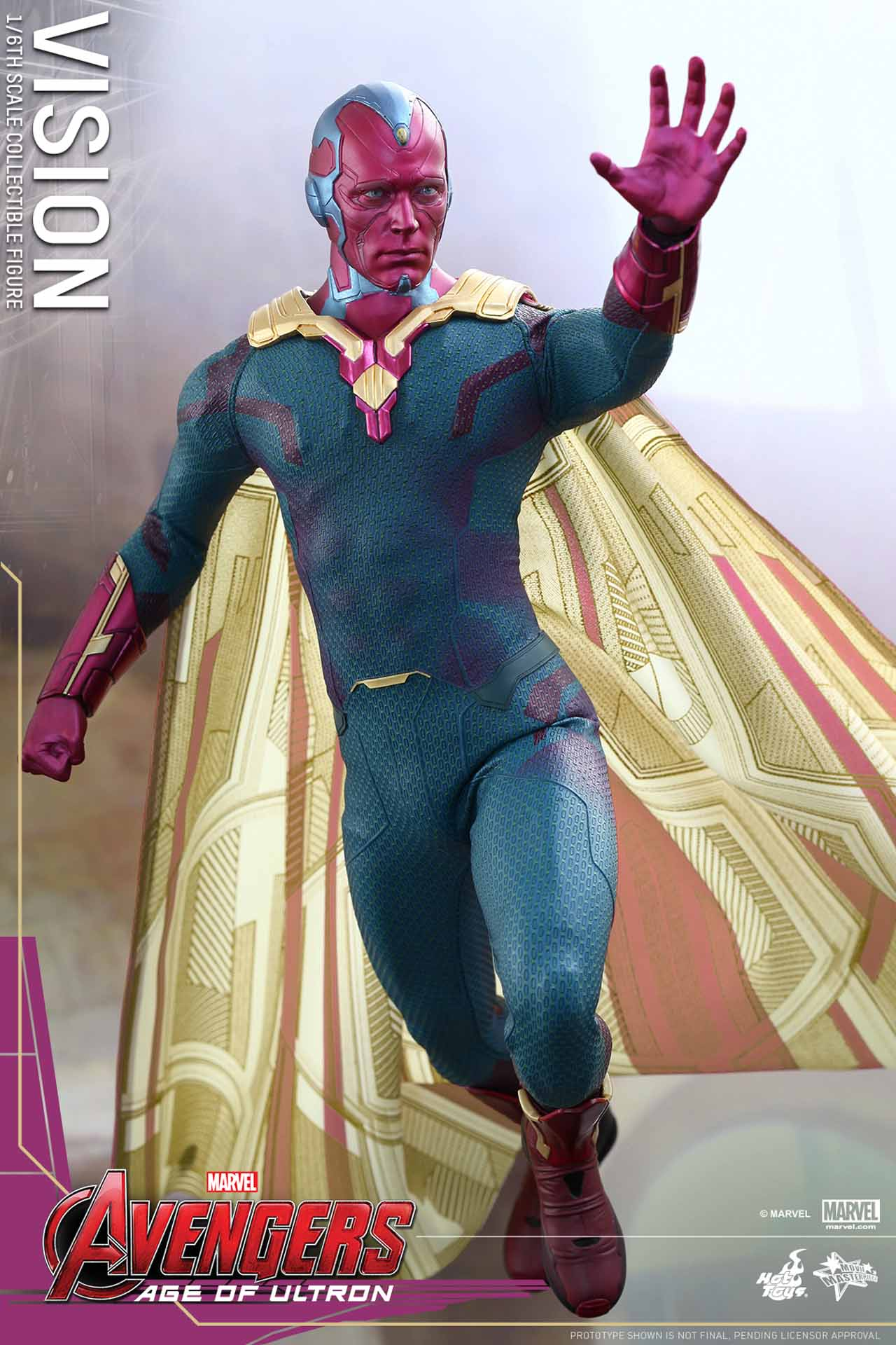 1/6th Scale Hot Toys Vision Collectible Figure