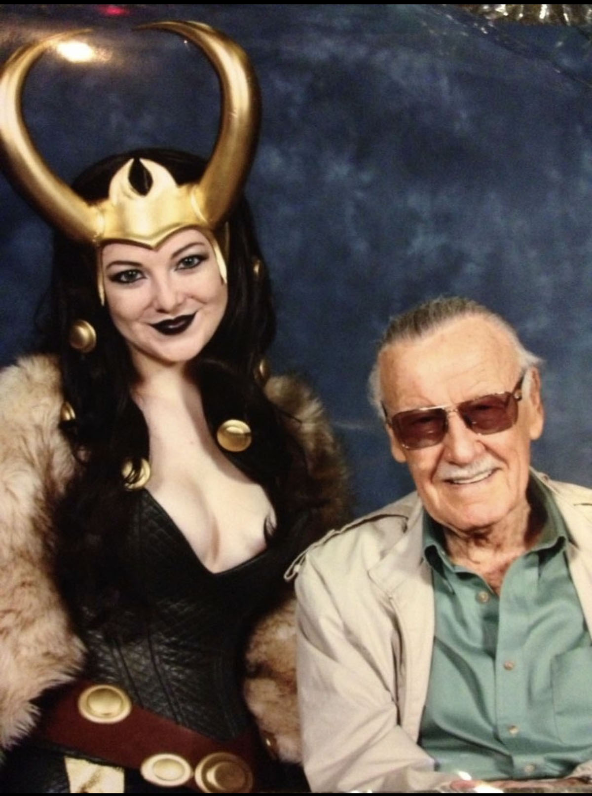 My First Cosplay: Lady Loki in 2013 with Stan Lee!