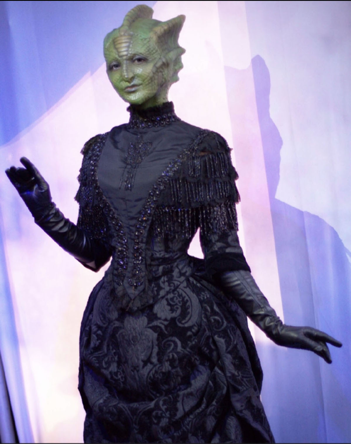 Madam Vastra from Doctor Who - mua Keaghlan Ashley