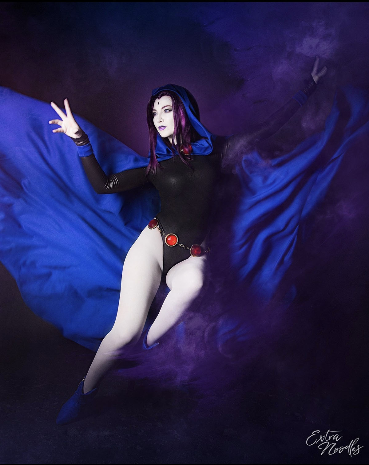 Raven from Teen Titans - photo by Extra Noodles