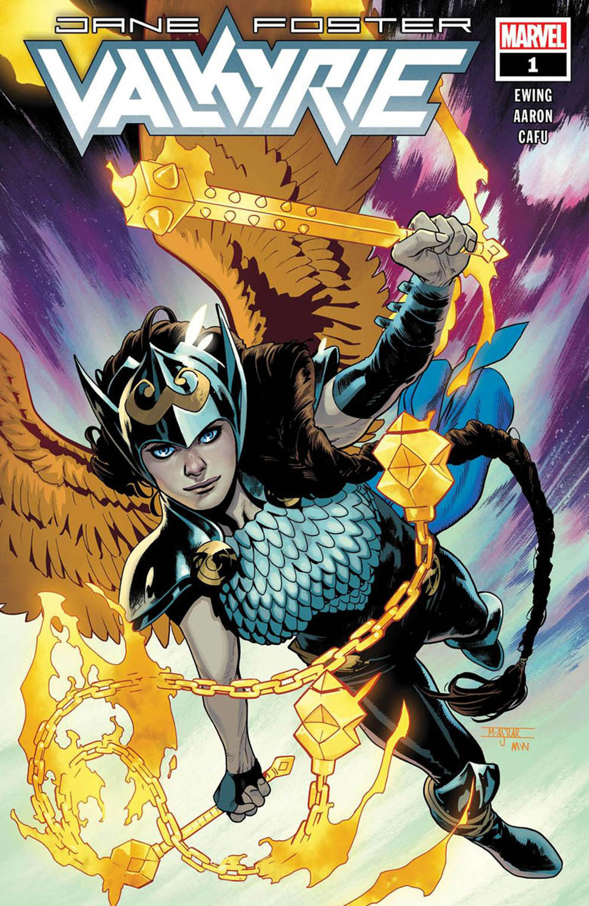 Jane Foster: Valkyrie #1 cover