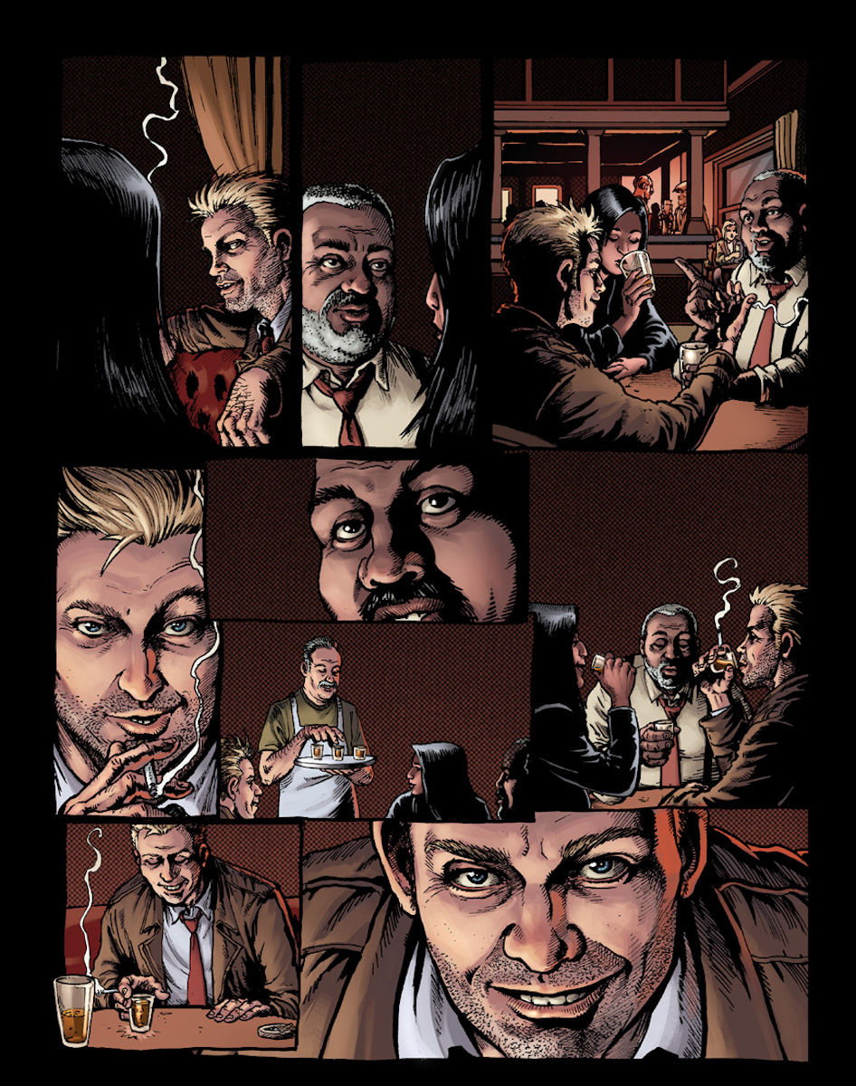 Hellblazer: Rise and Fall Page 4