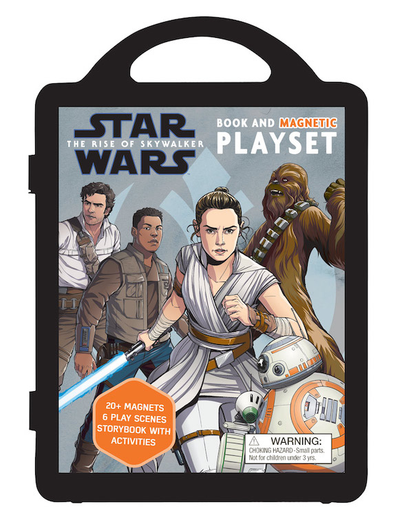 Star Wars: The Rise of Skywalker Book and Magnetic Playset