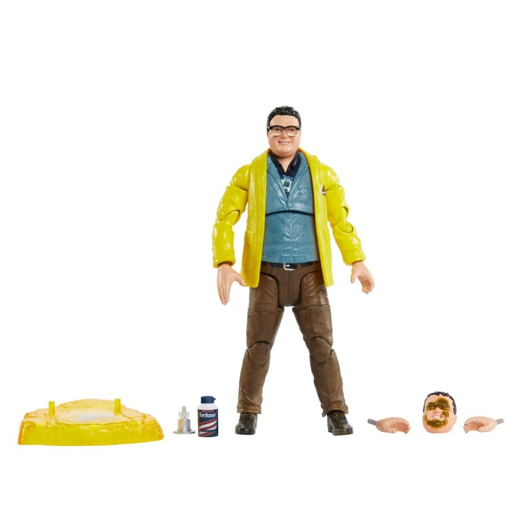 Nedry and accessories
