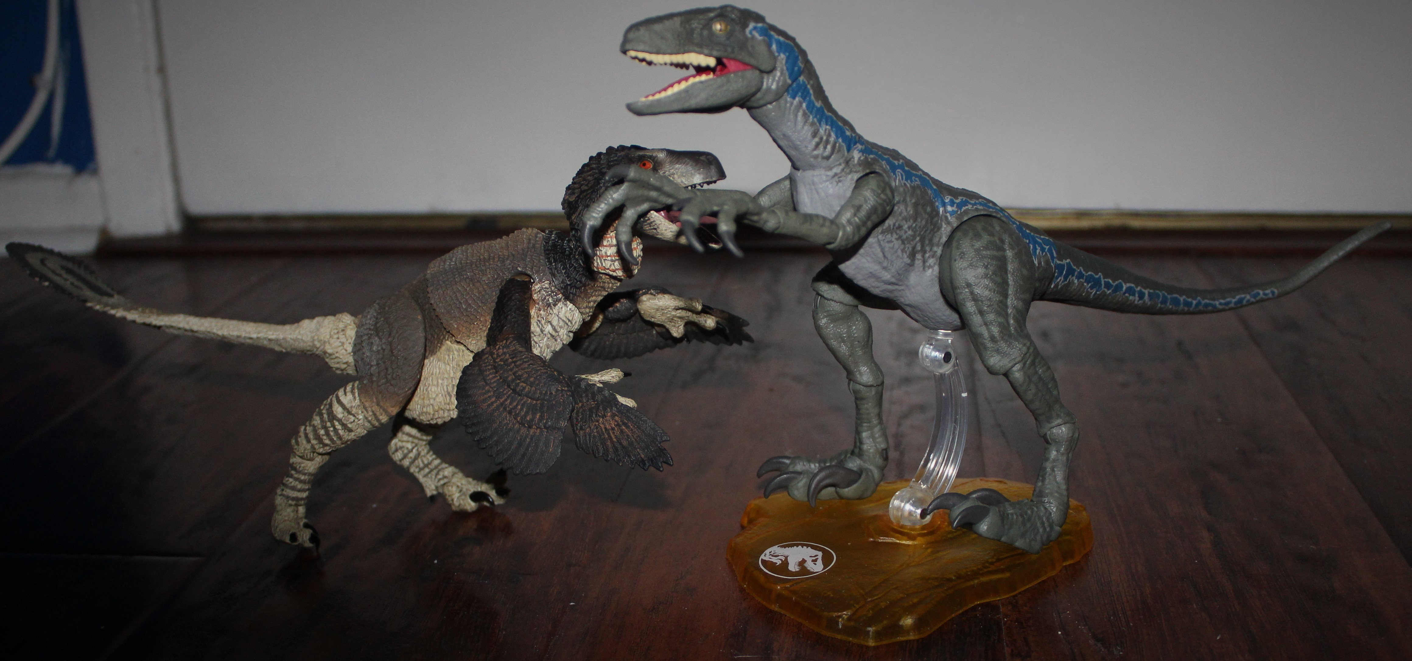 Beasts of the Mesozoic comparison.