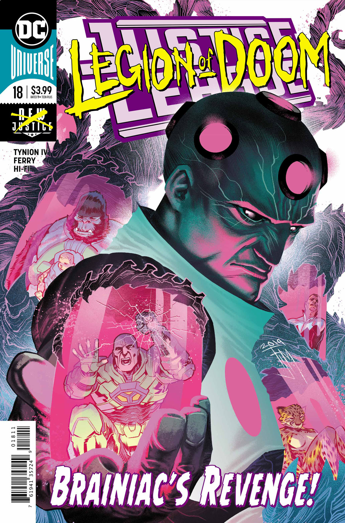 Justice League #18 cover