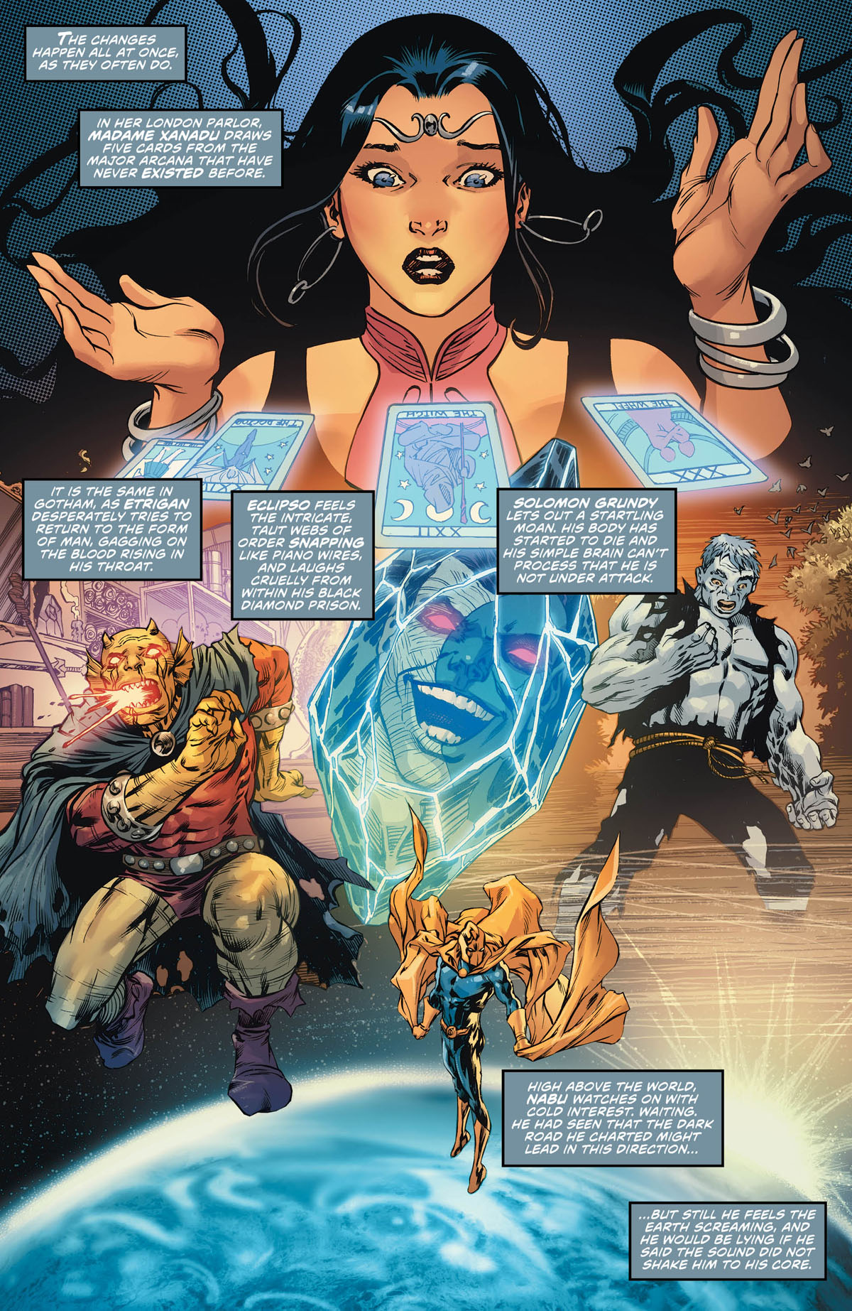 Justice League Dark Wonder Woman: The Witching Hour #1 page 1