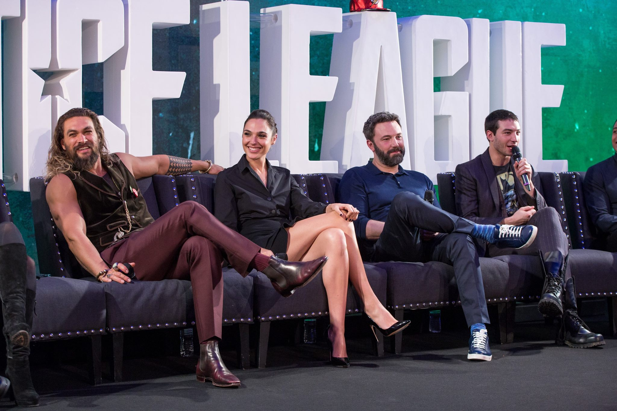 Justice League Press Conference