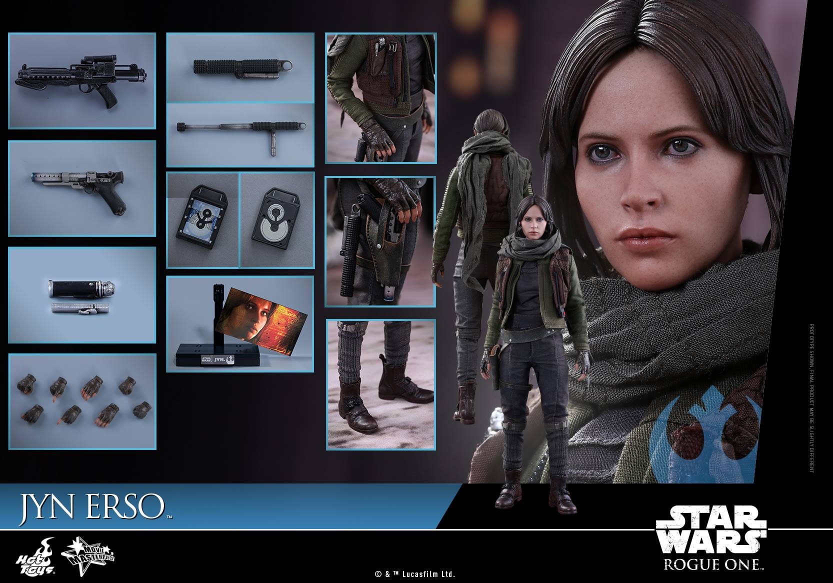 Rogue One Jyn Erso Hot Toy
