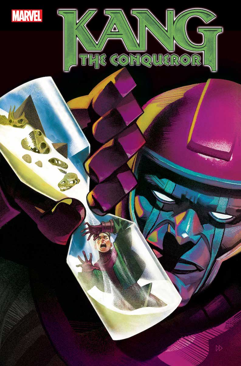 Kang the Conqueror #1 Cover by Mike del Mundo