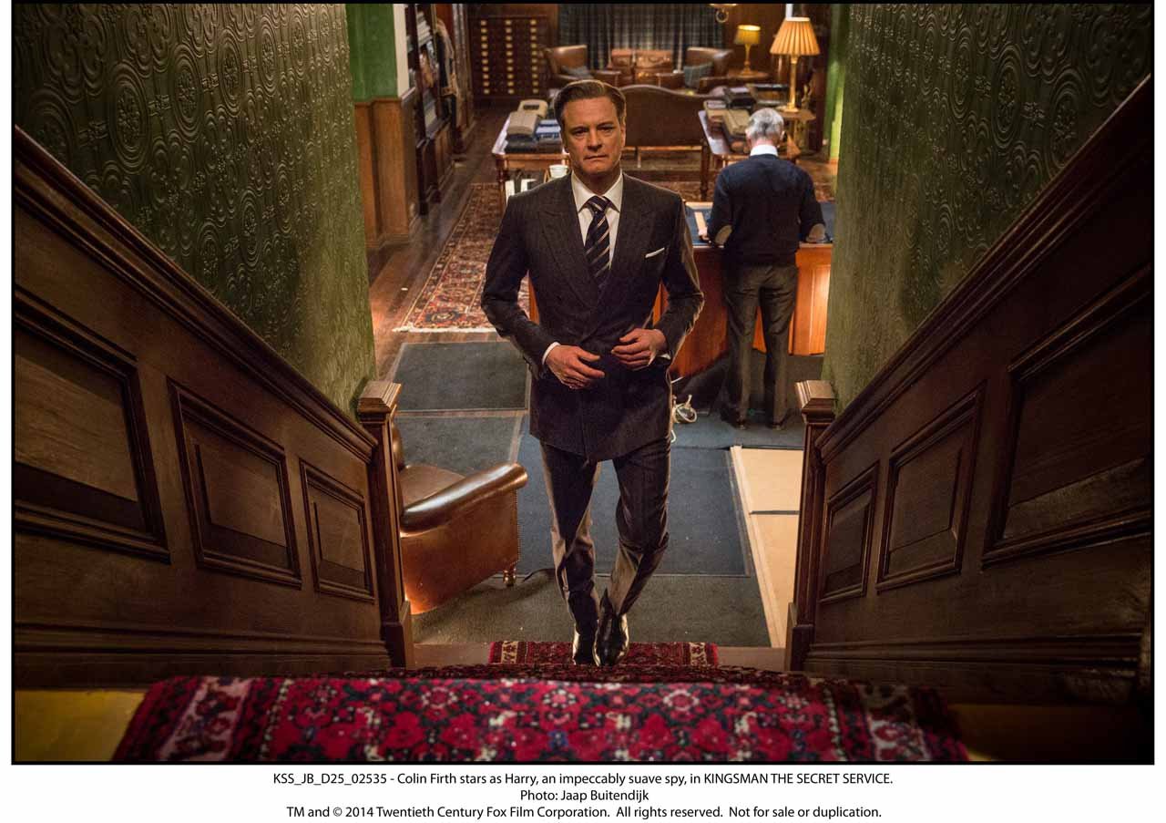 KSS_JB_D25_02535 - Colin Firth stars as Harry, an impeccably suave spy, in KINGSMAN THE SECRET SERVICE.