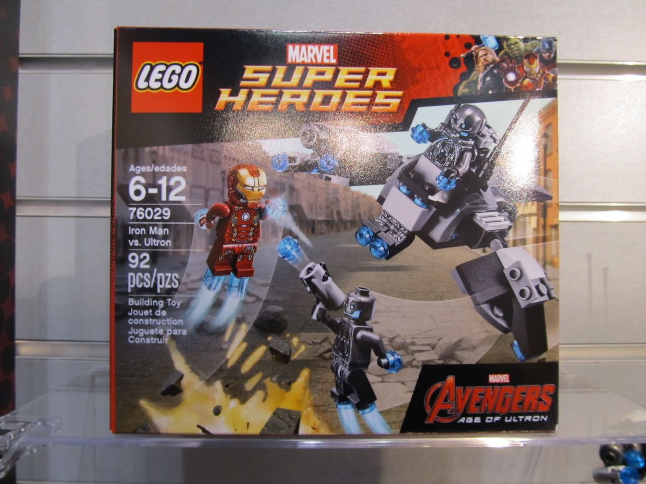 Tie AvengersAge Of Superherohype For FairLego's Sets In Toy Ultron L5Aj3c4Rq
