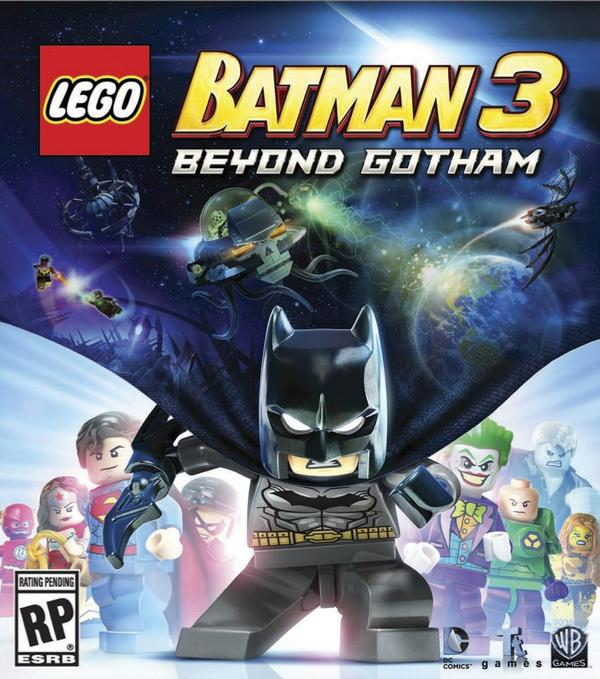 LEGO Batman 3: Beyond Gotham Cover Art