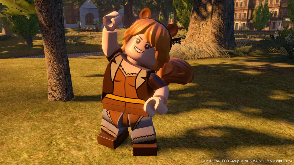 LEGO Marvel's Avengers Unbeatable Squirrel Girl