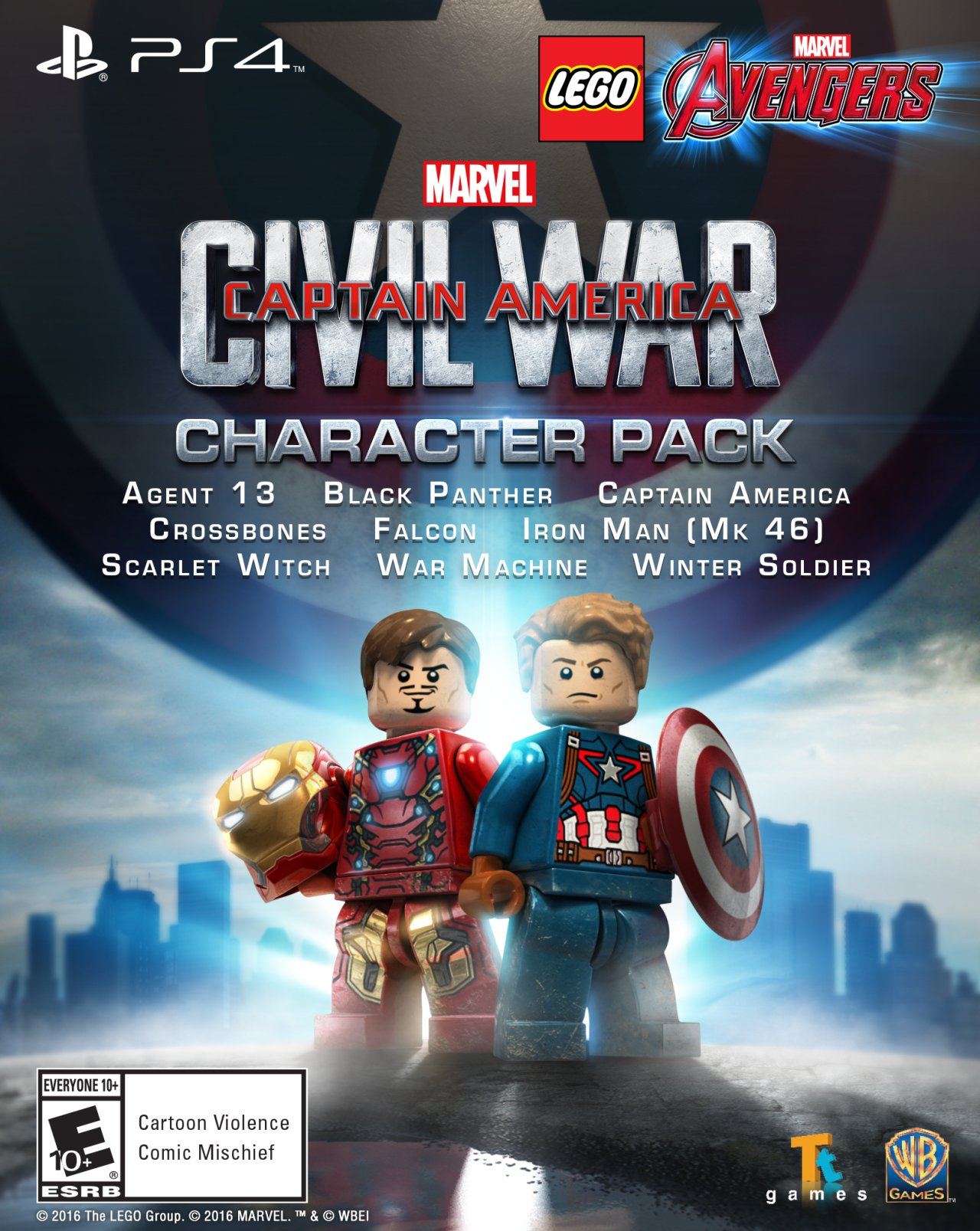 Captain America: Civil War character pack
