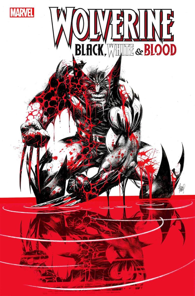 Wolverine: Black, White, and Blood #1 Cover by Adam Kubert