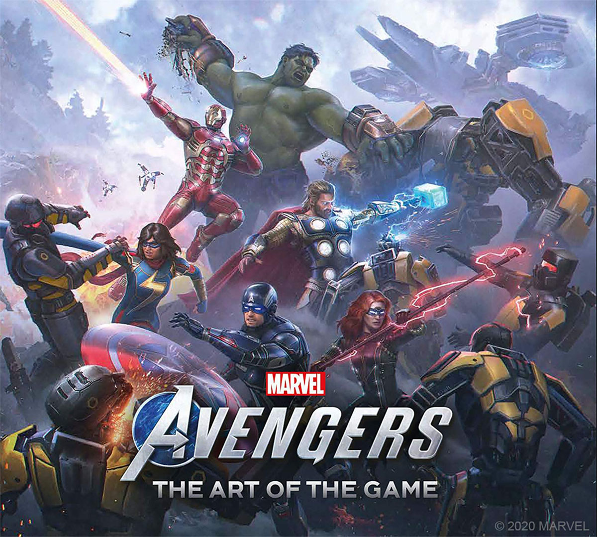 Marvel's Avengers - The Art of the Game cover
