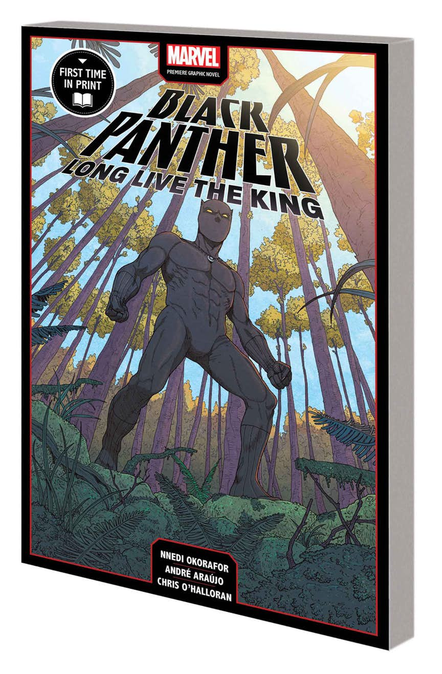 BLACK PANTHER: LONG LIVE THE KING MPGN TPB