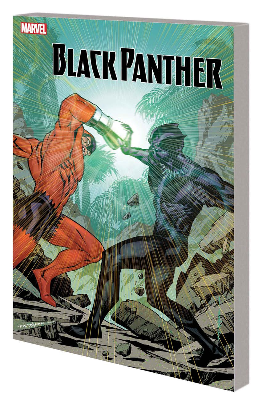 BLACK PANTHER BOOK 5: AVENGERS OF THE NEW WORLD PART 2 TPB