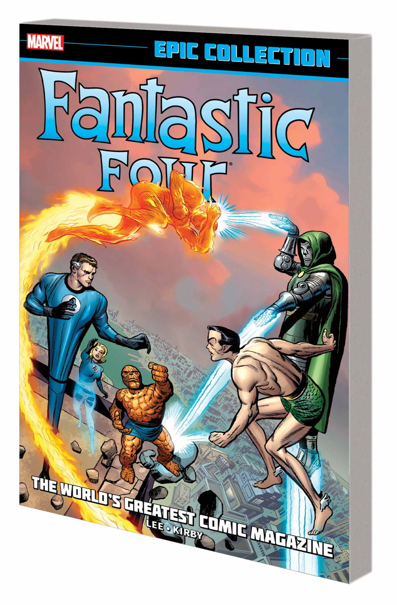 FANTASTIC FOUR EPIC COLLECTION: THE WORLD'S GREATEST COMIC MAGAZINE TPB