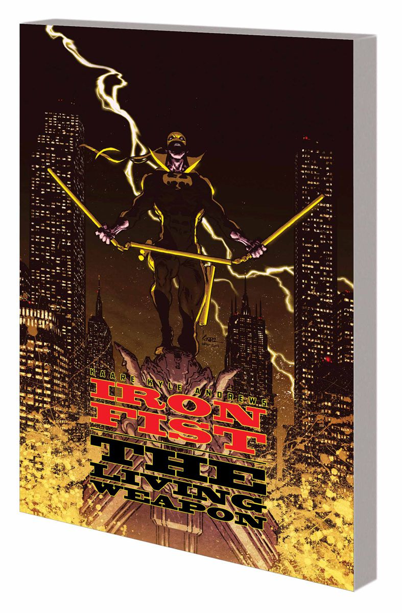 IRON FIST: THE LIVING WEAPON VOL. 2 - REDEMPTION TPB