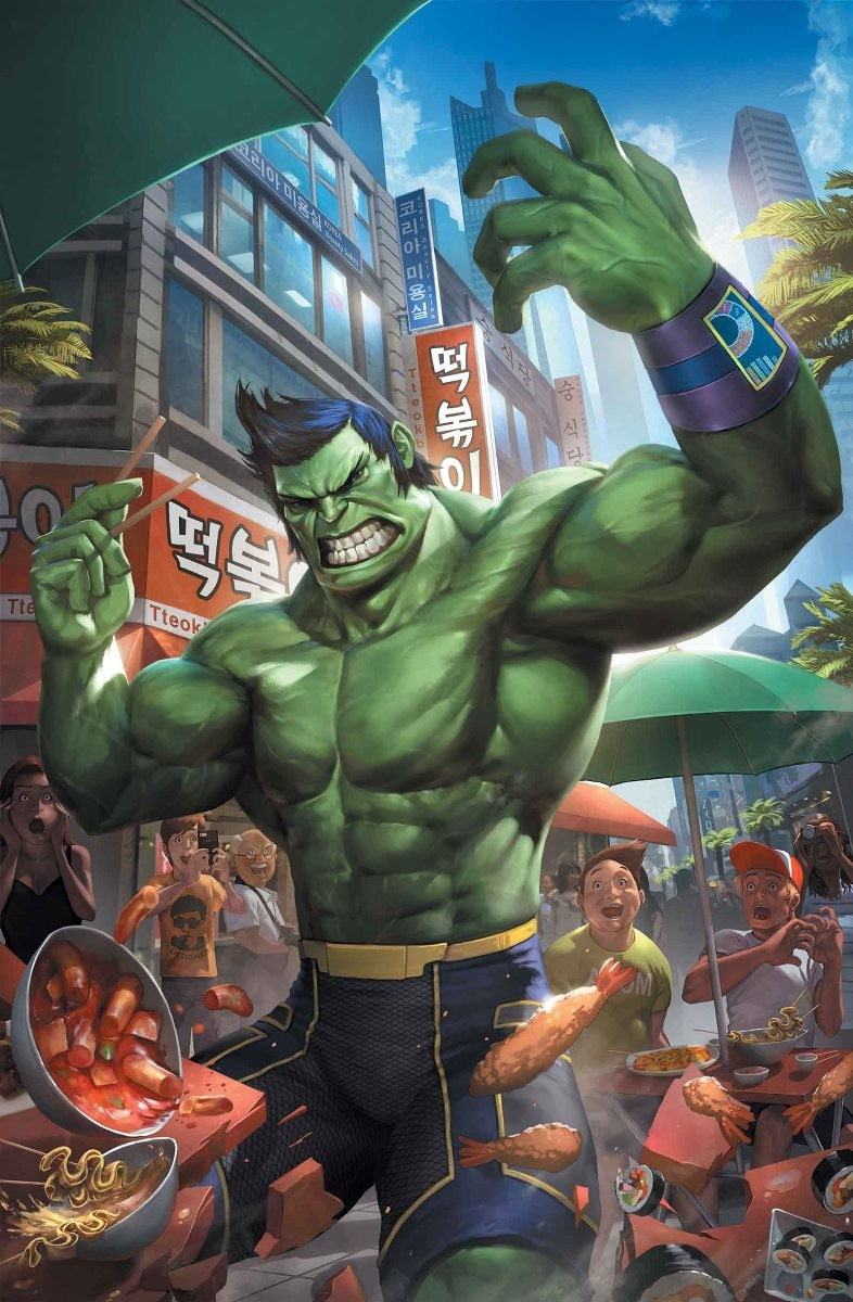 THE TOTALLY AWESOME HULK #1 VARIANT