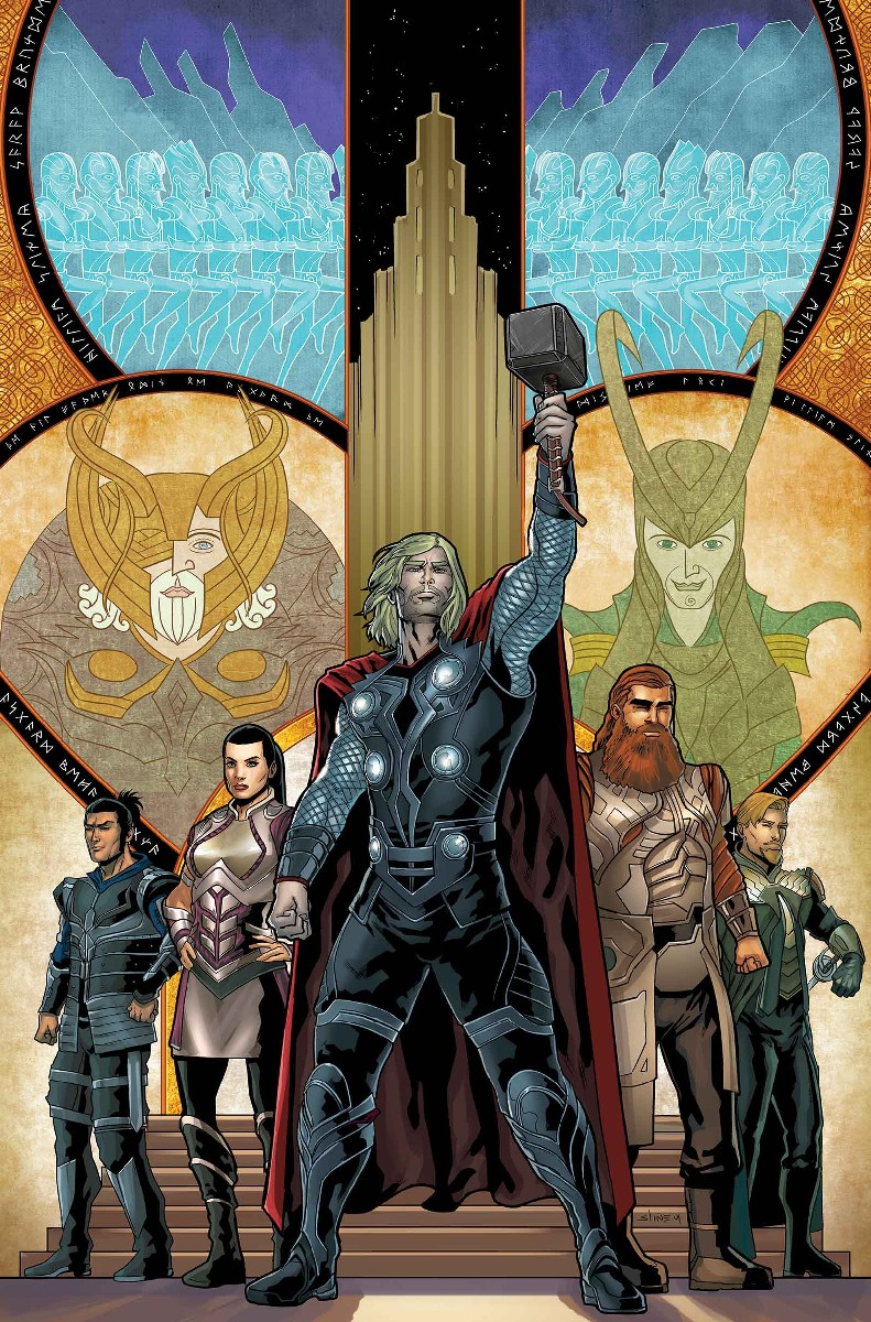 GUIDEBOOK TO THE MARVEL CINEMATIC UNIVERSE — MARVEL'S THOR VARIANT