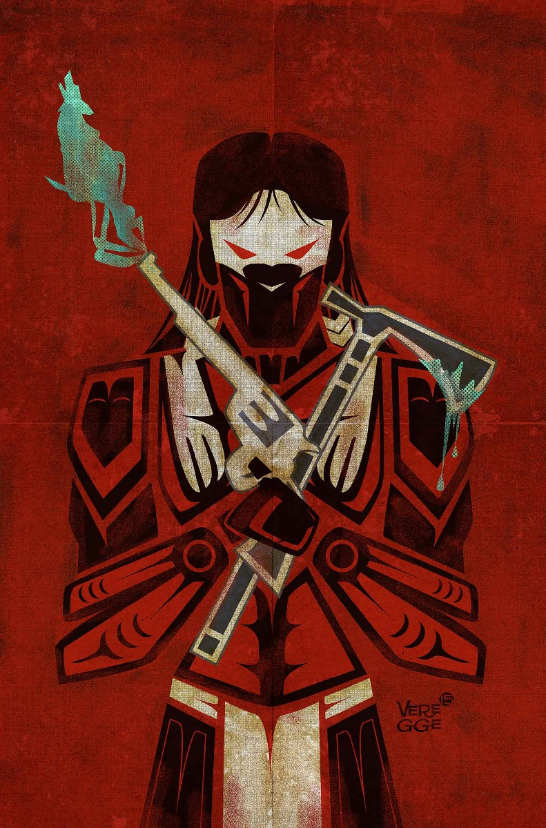 RED WOLF #1 VARIANT