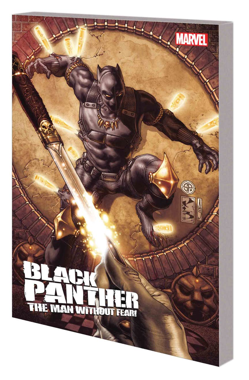 BLACK PANTHER: THE MAN WITHOUT FEAR — THE COMPLETE COLLECTION TPB