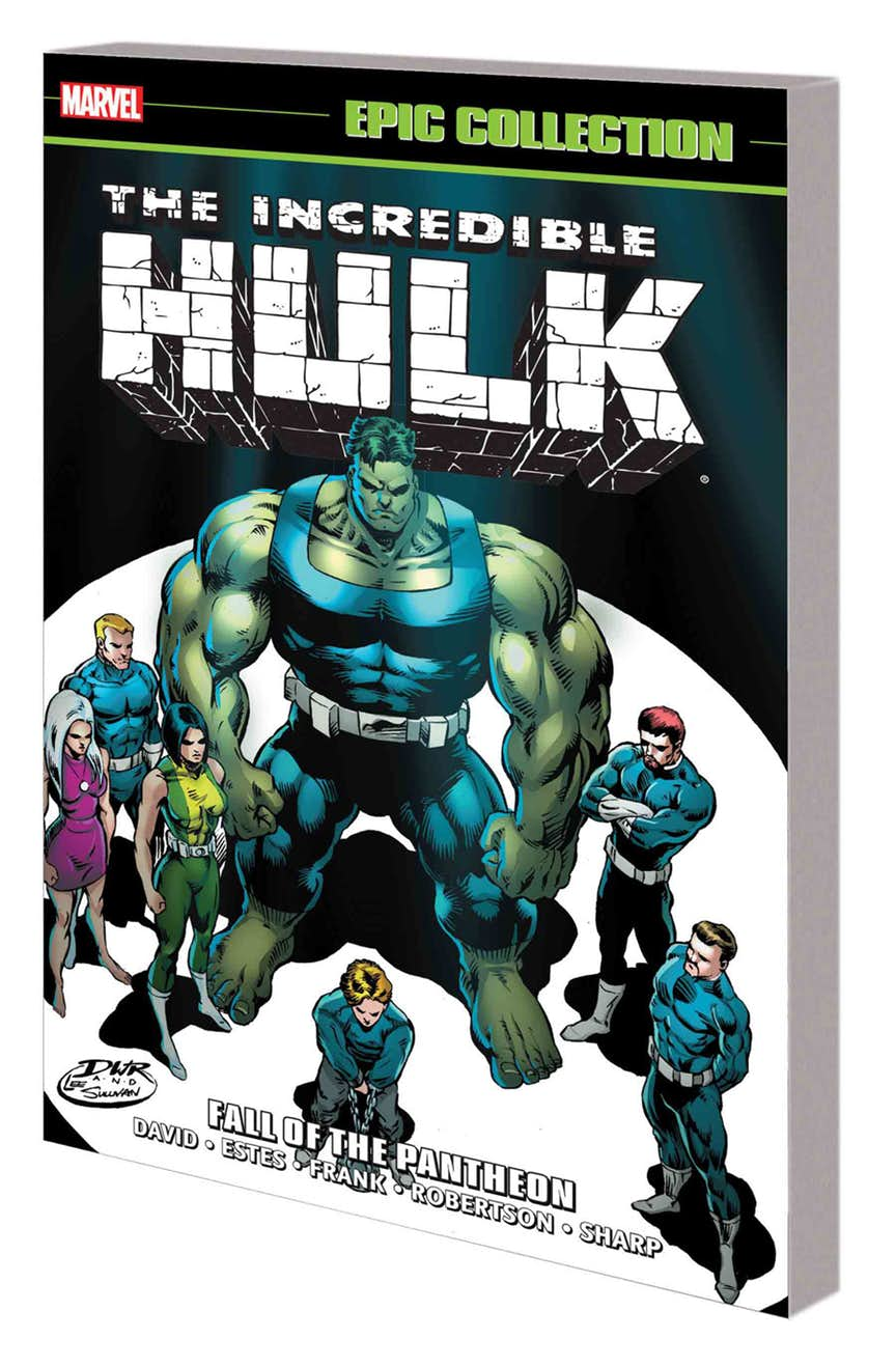 INCREDIBLE HULK EPIC COLLECTION: FALL OF THE PANTHEON TPB