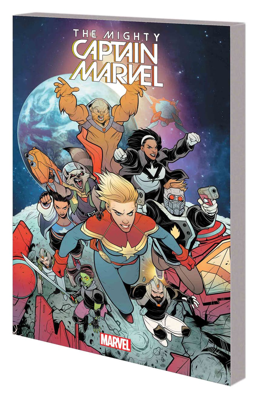 THE MIGHTY CAPTAIN MARVEL VOL. 2: BAND OF SISTERS TPB