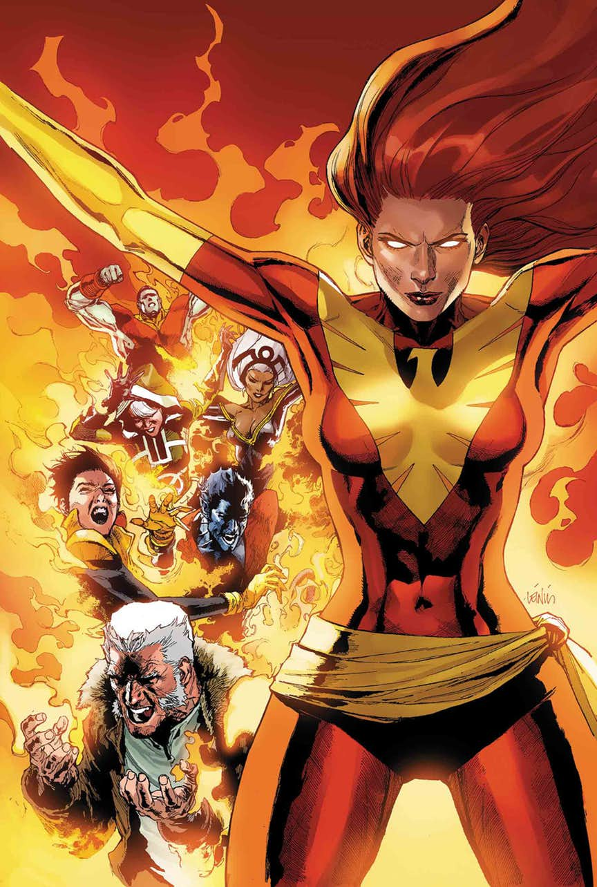 PHOENIX RESURRECTION: THE RETURN OF (ADULT) JEAN GREY #1