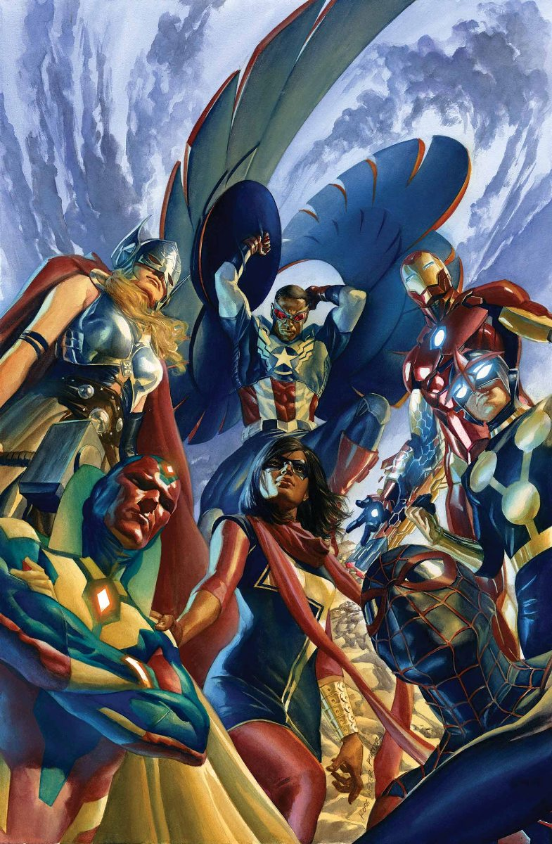 ALL NEW, ALL DIFFERENT AVENGERS #1