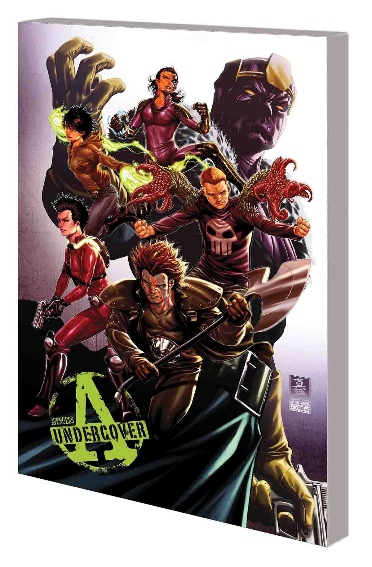 AVENGERS UNDERCOVER: THE COMPLETE COLLECTION TPB