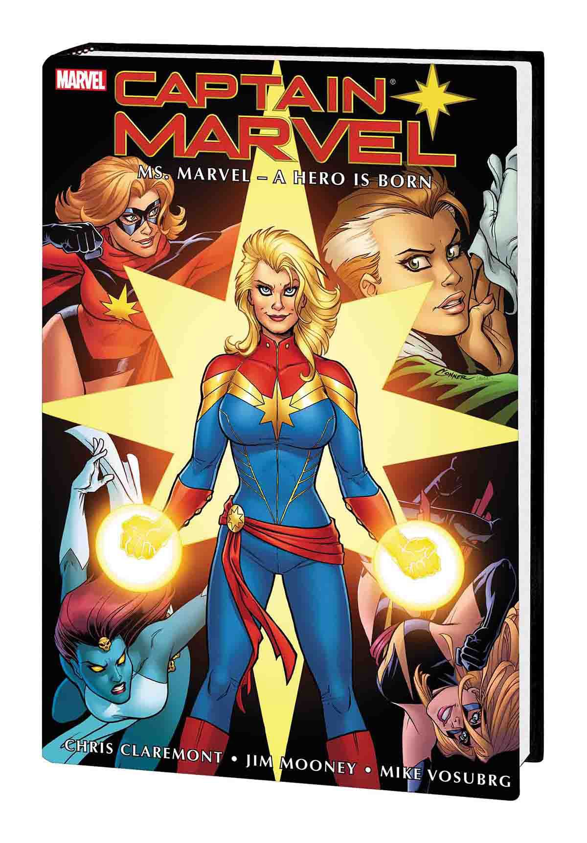 CAPTAIN MARVEL: MS. MARVEL — A HERO IS BORN OMNIBUS HC CONNER COVER