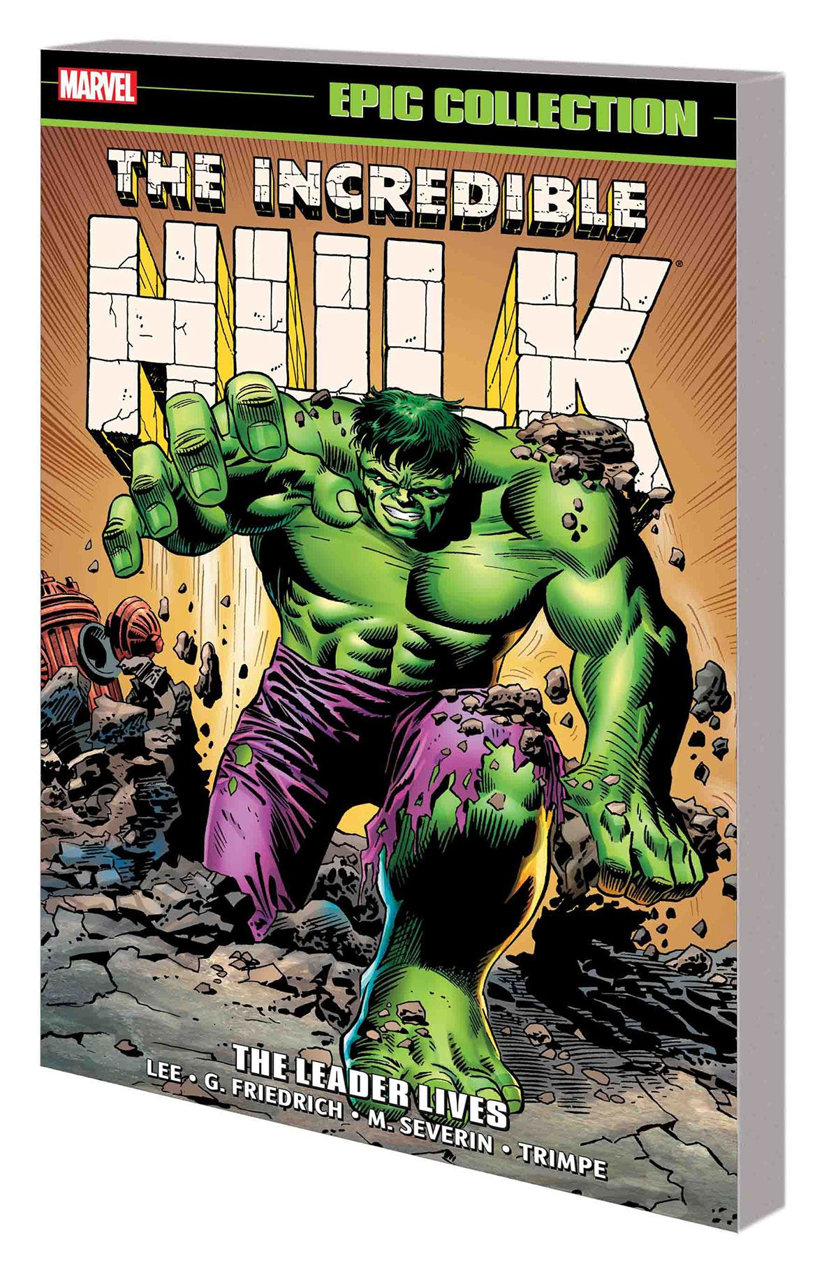 INCREDIBLE HULK EPIC COLLECTION: THE LEADER LIVES TPB