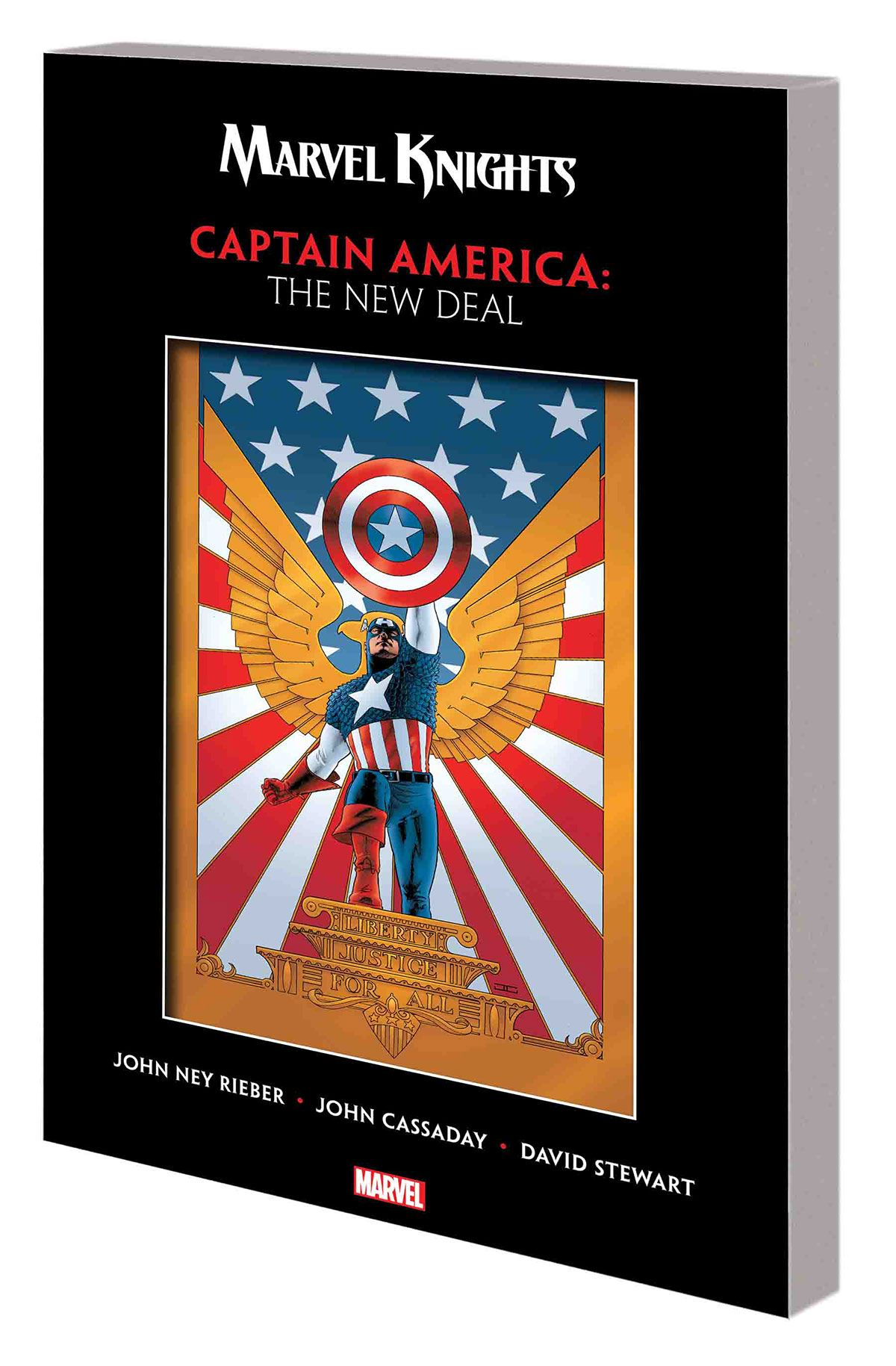 MARVEL KNIGHTS CAPTAIN AMERICA BY RIEBER & CASSADAY: THE NEW DEAL TPB