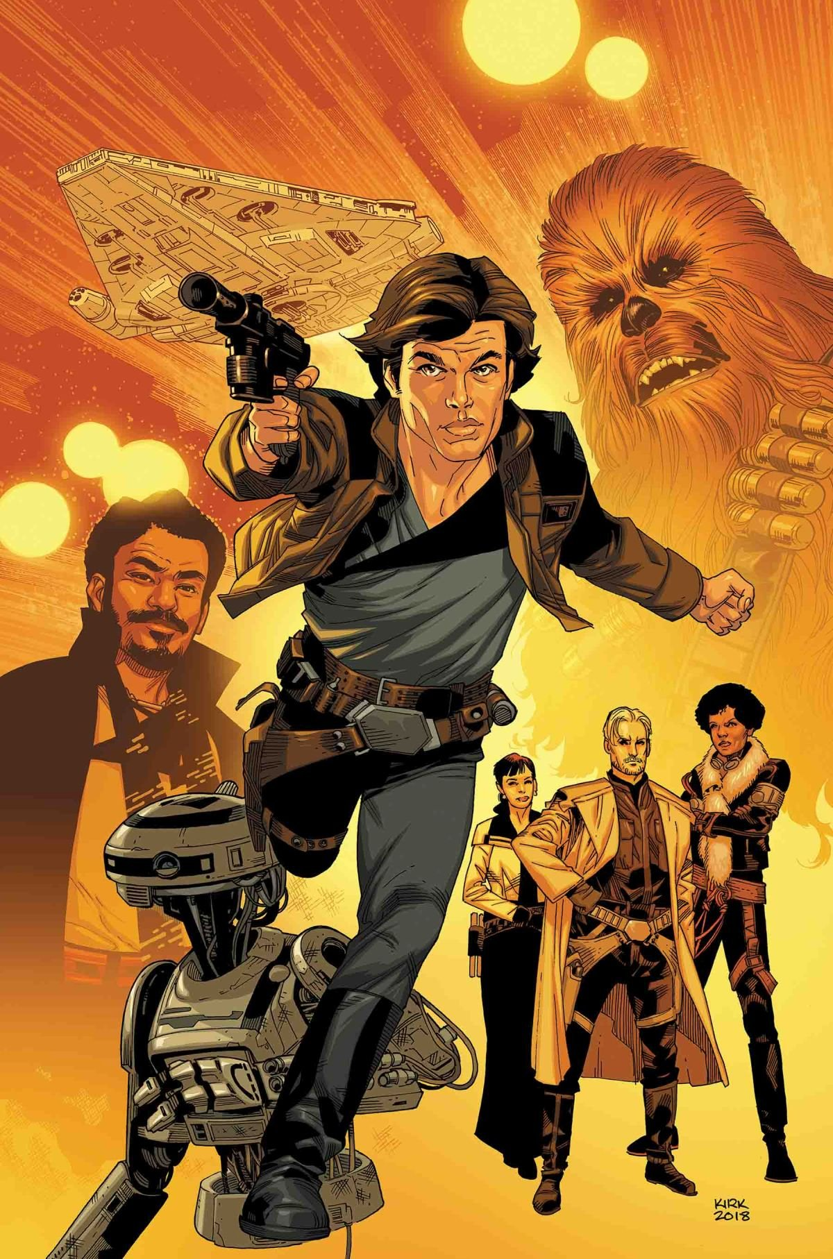 SOLO: A STAR WARS STORY ADAPTATION #1 (of 5)