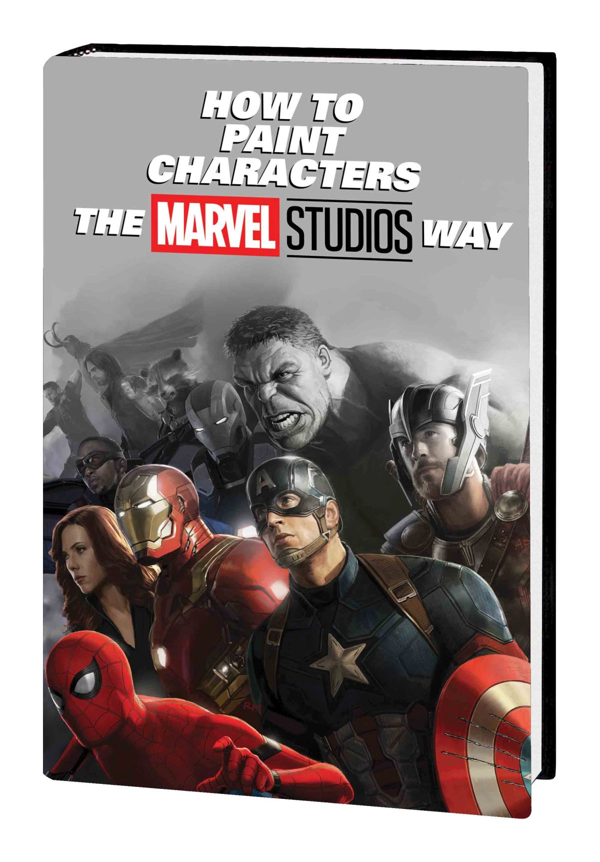 HOW TO PAINT CHARACTERS THE MARVEL STUDIOS WAY HC