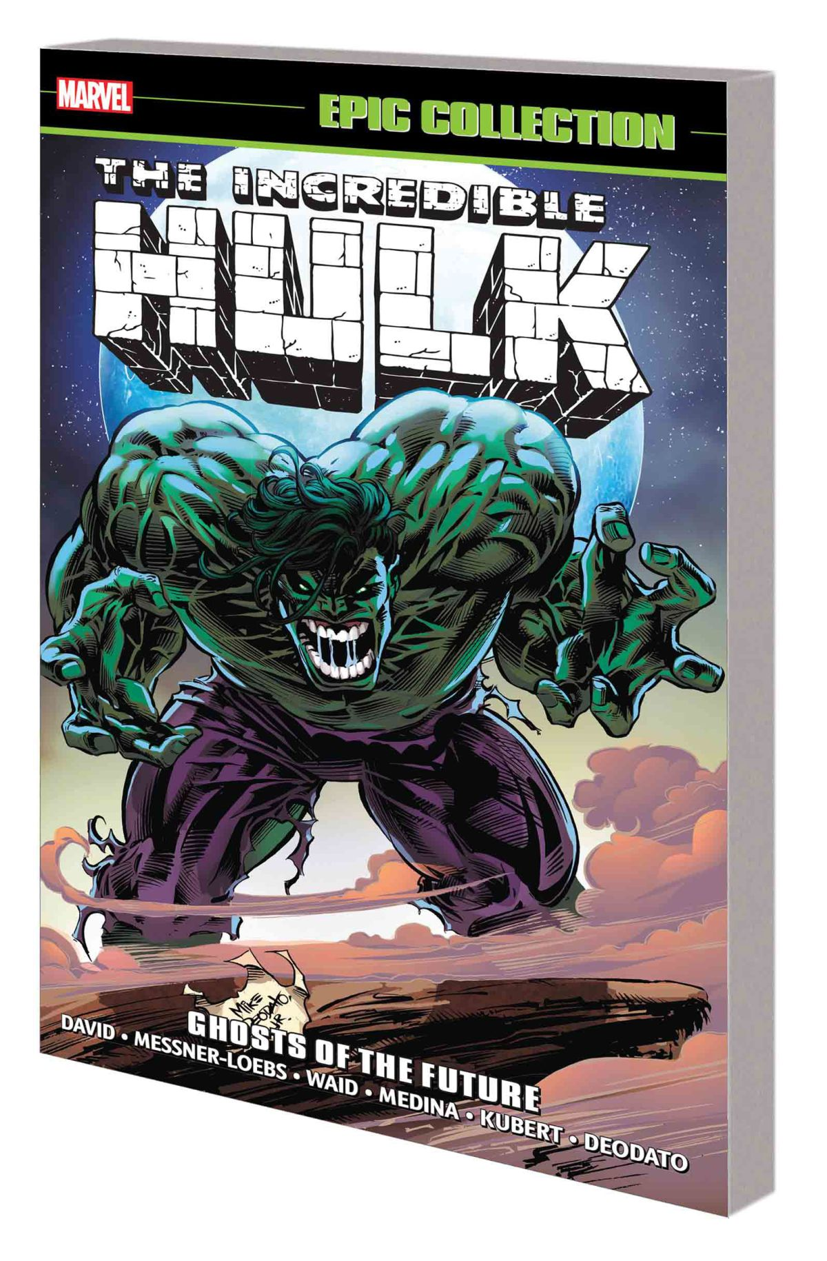 INCREDIBLE HULK EPIC COLLECTION: GHOSTS OF THE FUTURE TPB