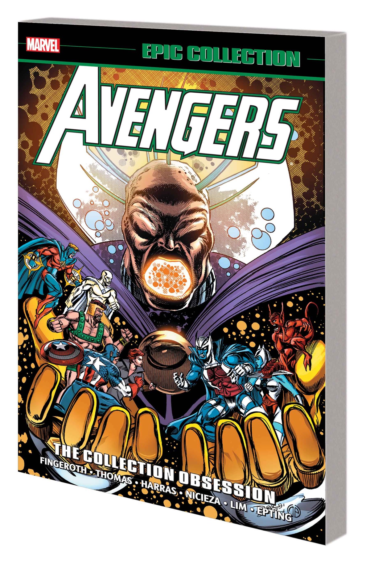 AVENGERS EPIC COLLECTION: THE COLLECTION OBSESSION TPB
