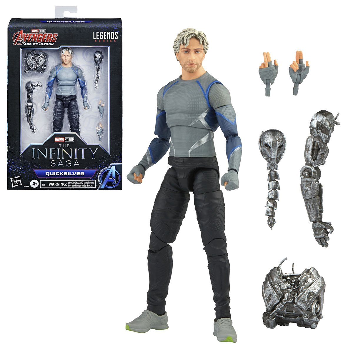 Quicksilver boxed and loose