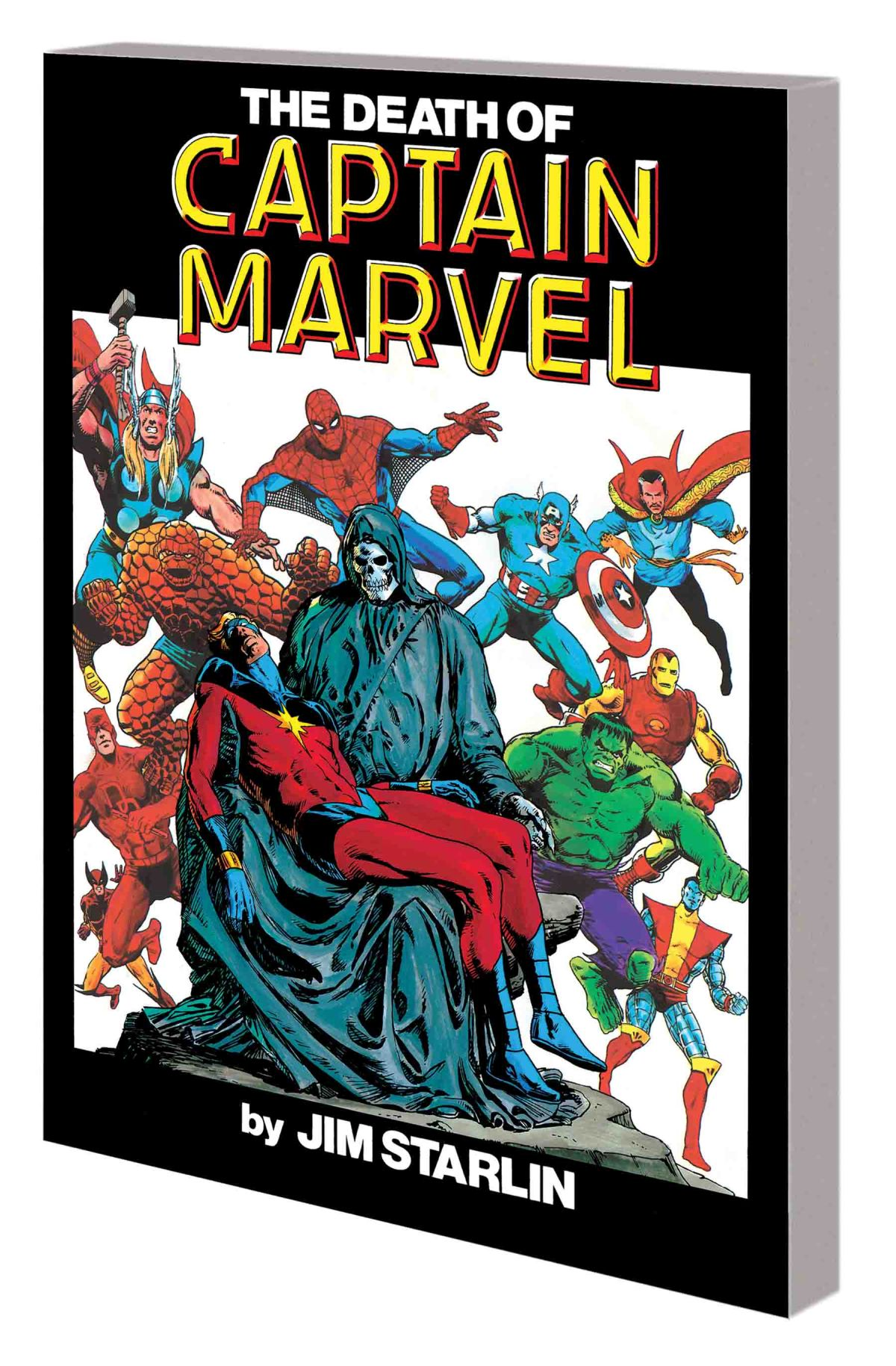 THE DEATH OF CAPTAIN MARVEL TPB NEW PRINTING!