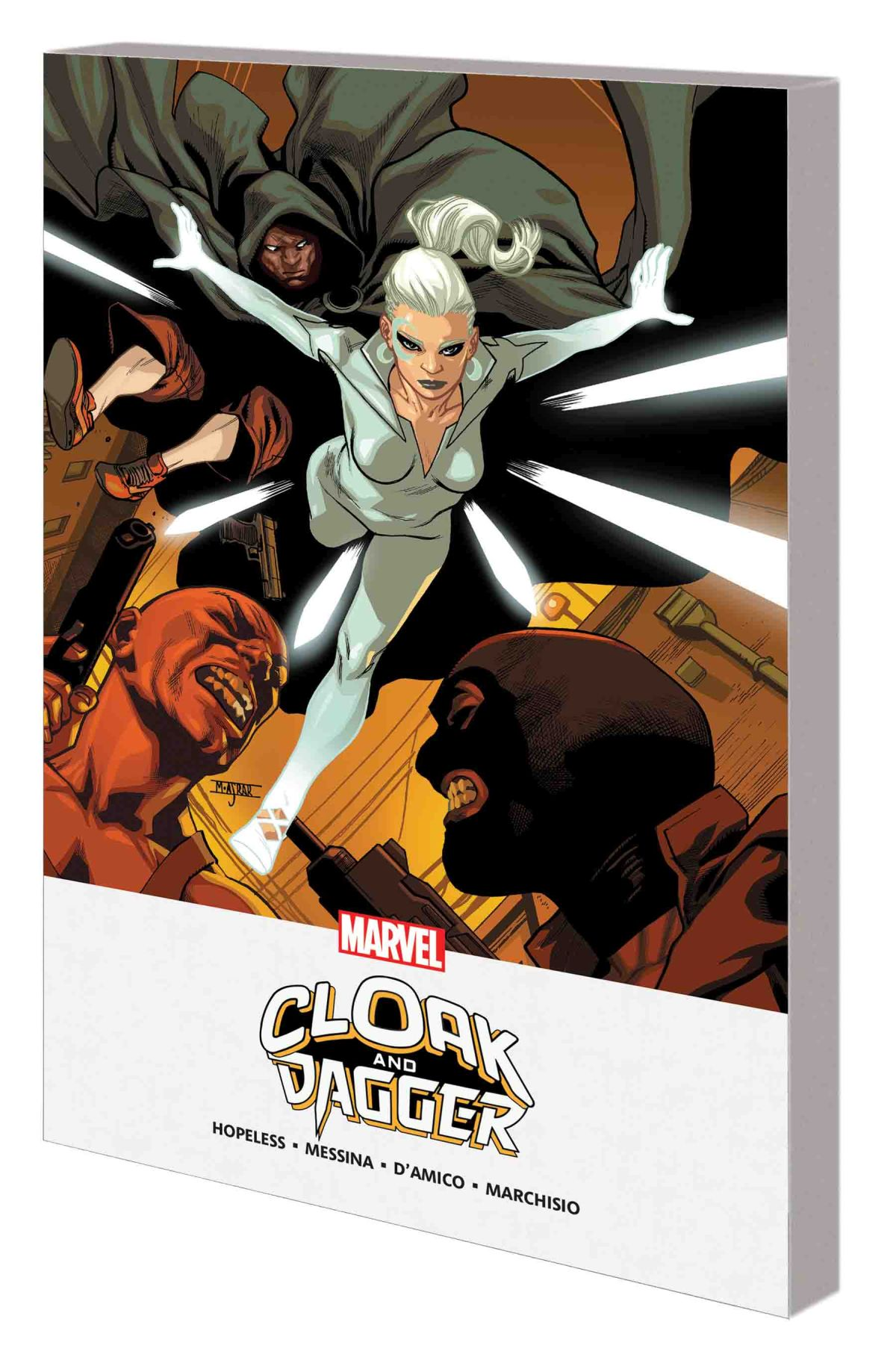 CLOAK AND DAGGER: SHADES OF GRAY MPGN TPB