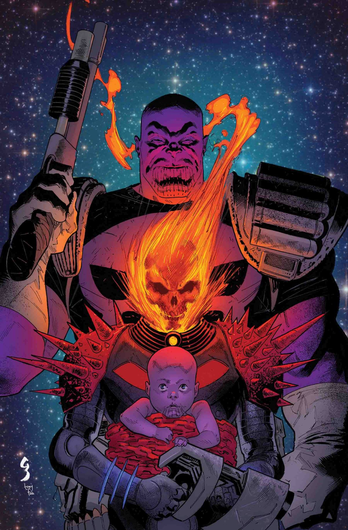 COSMIC GHOST RIDER #5 (of 5)