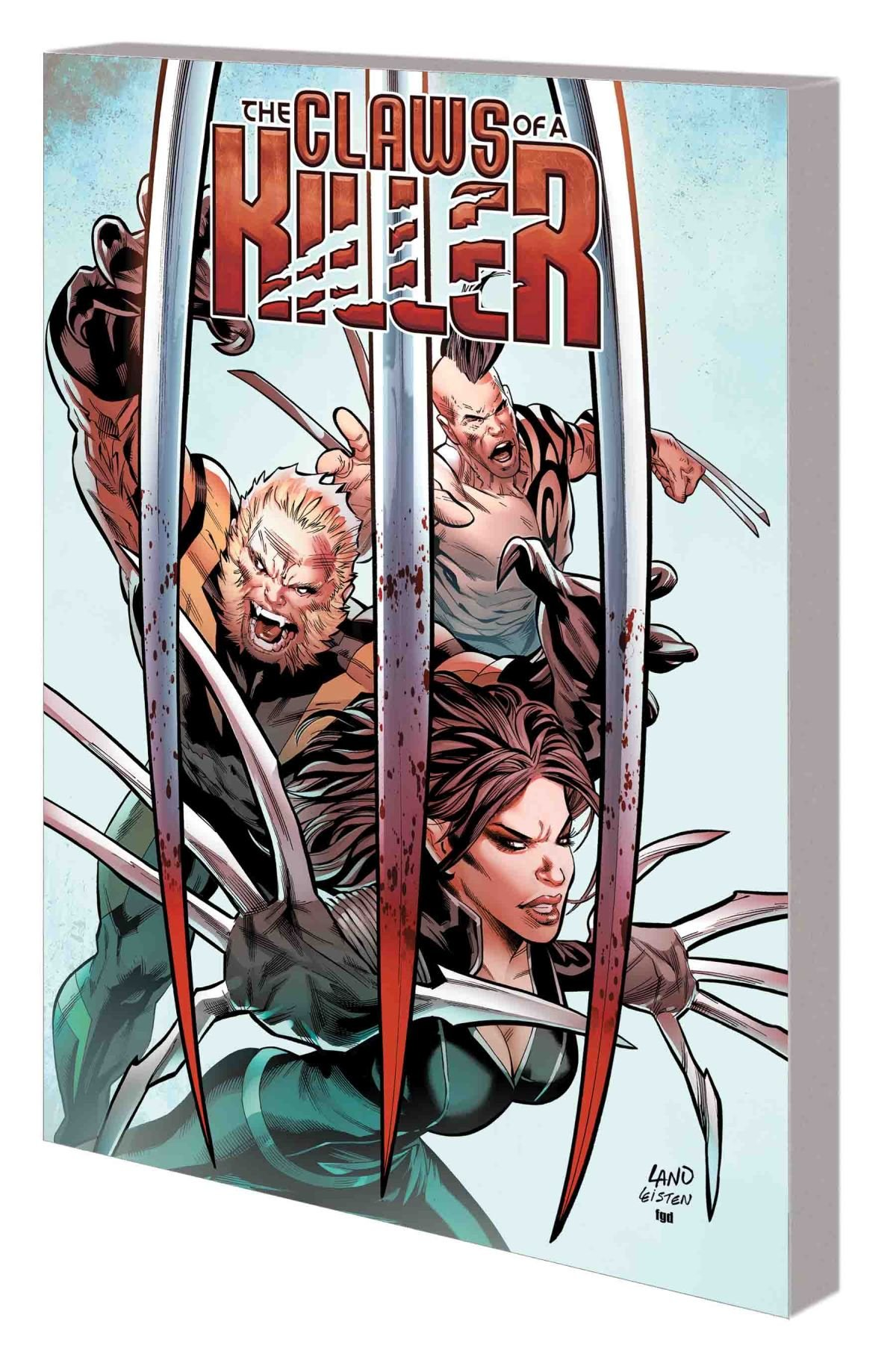 HUNT FOR WOLVERINE: CLAWS OF A KILLER TPB