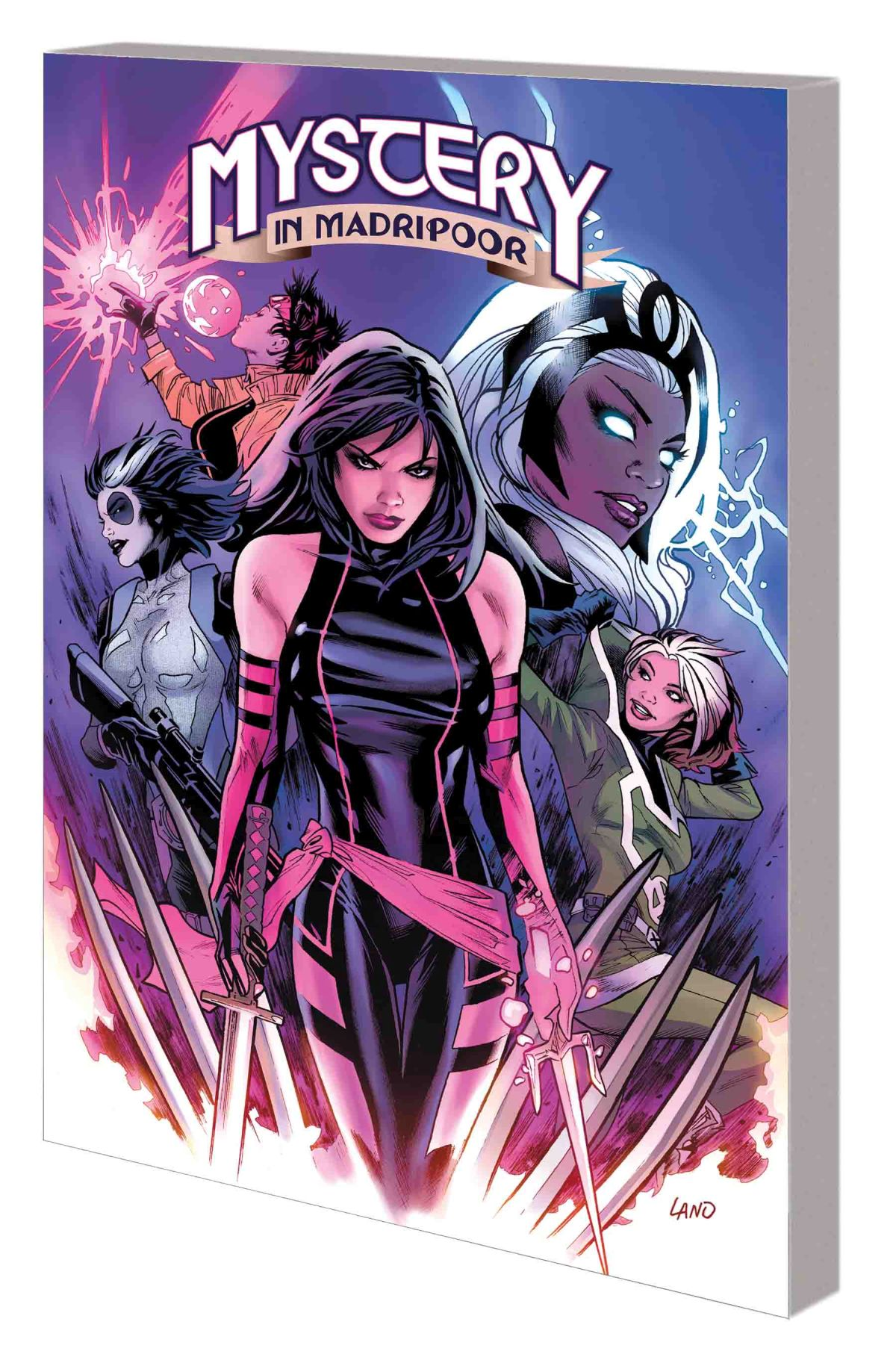 HUNT FOR WOLVERINE: MYSTERY IN MADRIPOOR TPB